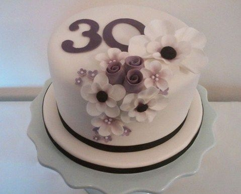 30th birthday cake ideas for women Cakes Pinterest 30th