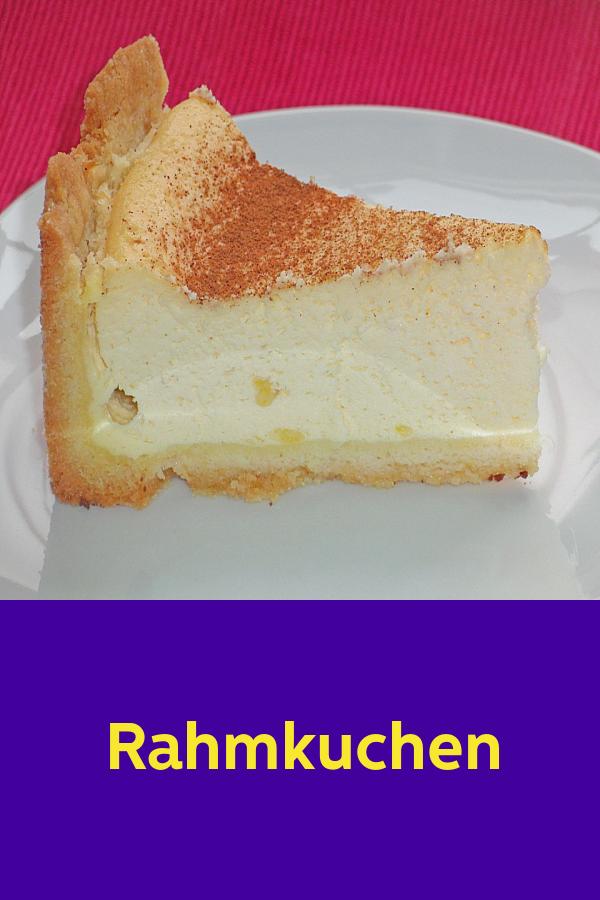 Rahmkuchen #recettesympa