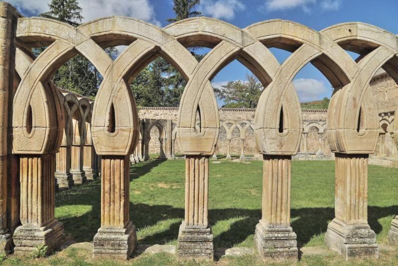 Arcos de San Juan de Duero - Claustro románico, Soria