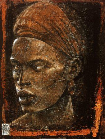 Afrikanischer Einfluss (Dekorative Kunst) Prints bei AllPosters.de