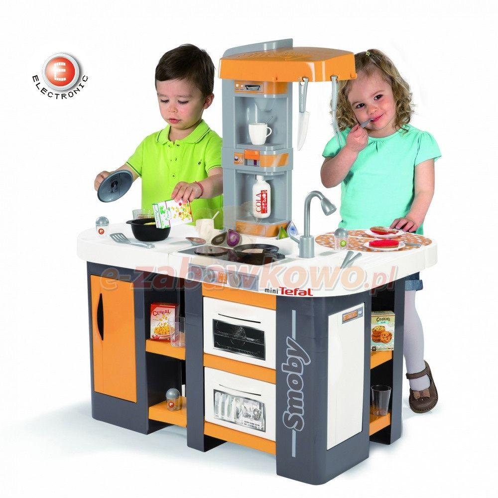 Smoby Kuchnia Elektroniczna Mini Tefal Studio Xl 311002 Dla Dzieci Dzieci Kuchnia
