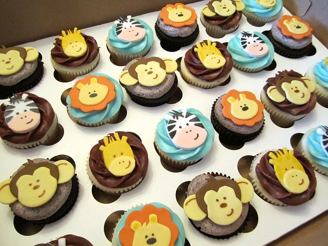 Jungle Baby Shower Cupcakes Safari Baby Shower Cake Baby Shower