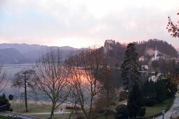 Abendstimmung in #Bled