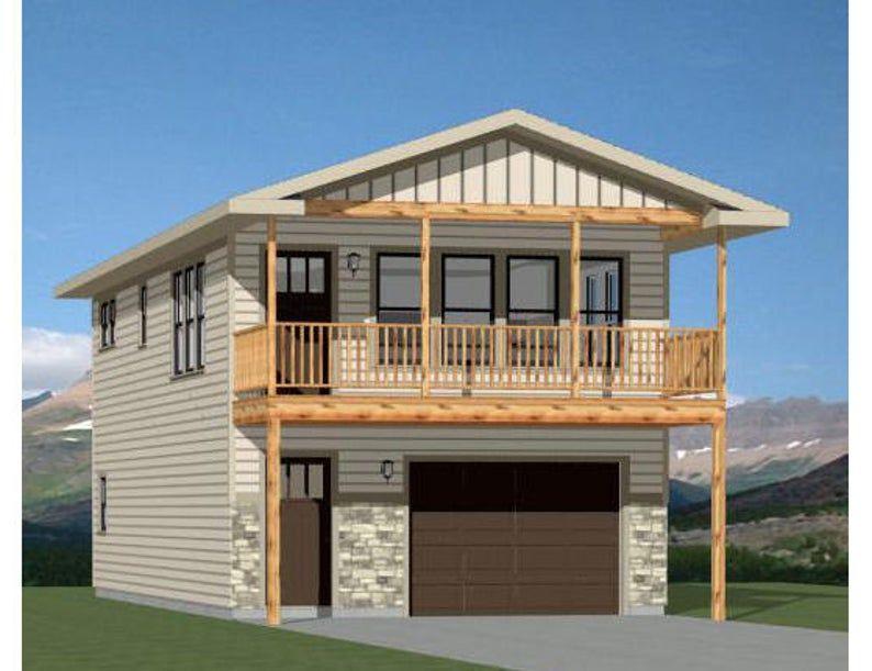 20x40 House 2 Bedroom 1.5 Bath 859 sq ft PDF