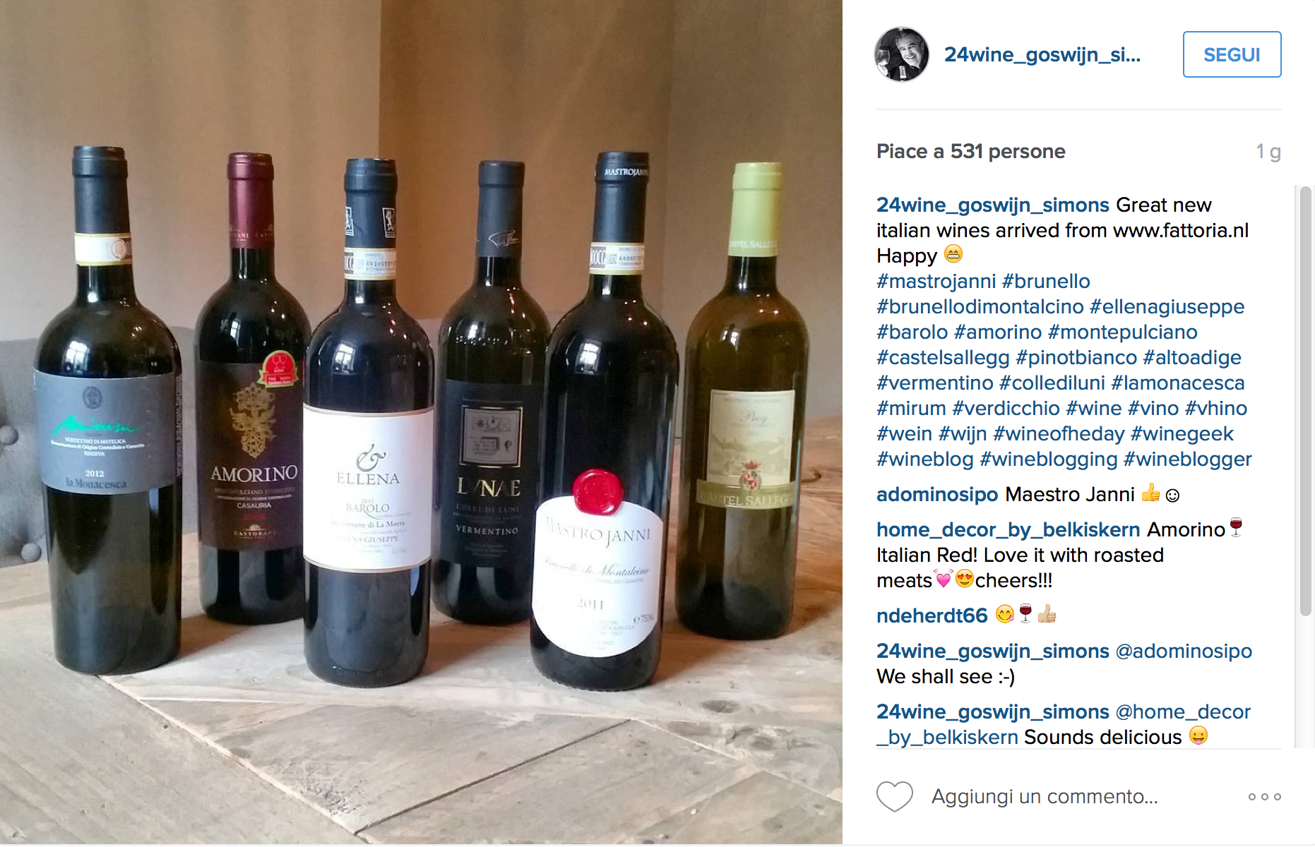 Brunello and Instagram