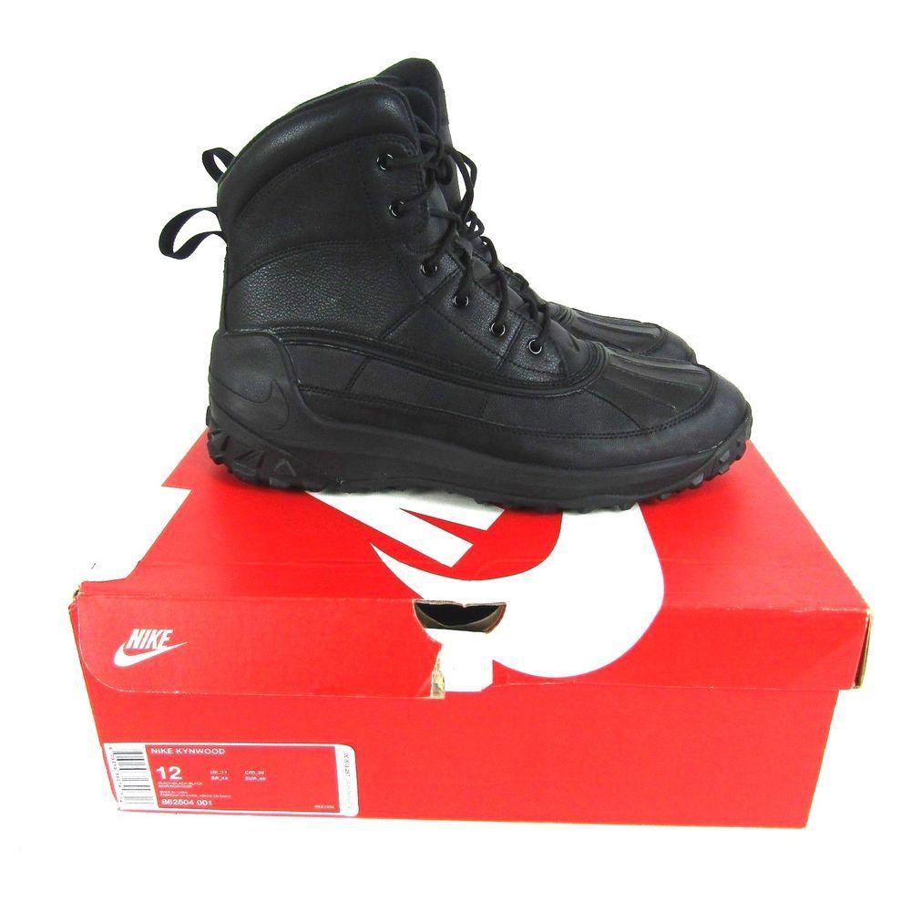 872a0c93fb0 Nike Kynwood Mens Winter Boots Black [862504-001] New in Box ...