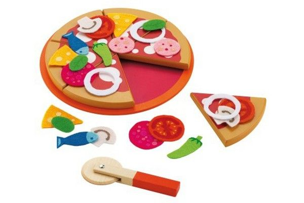 Sevi - Set pizza #giochi #legno #wood #toys #sevi