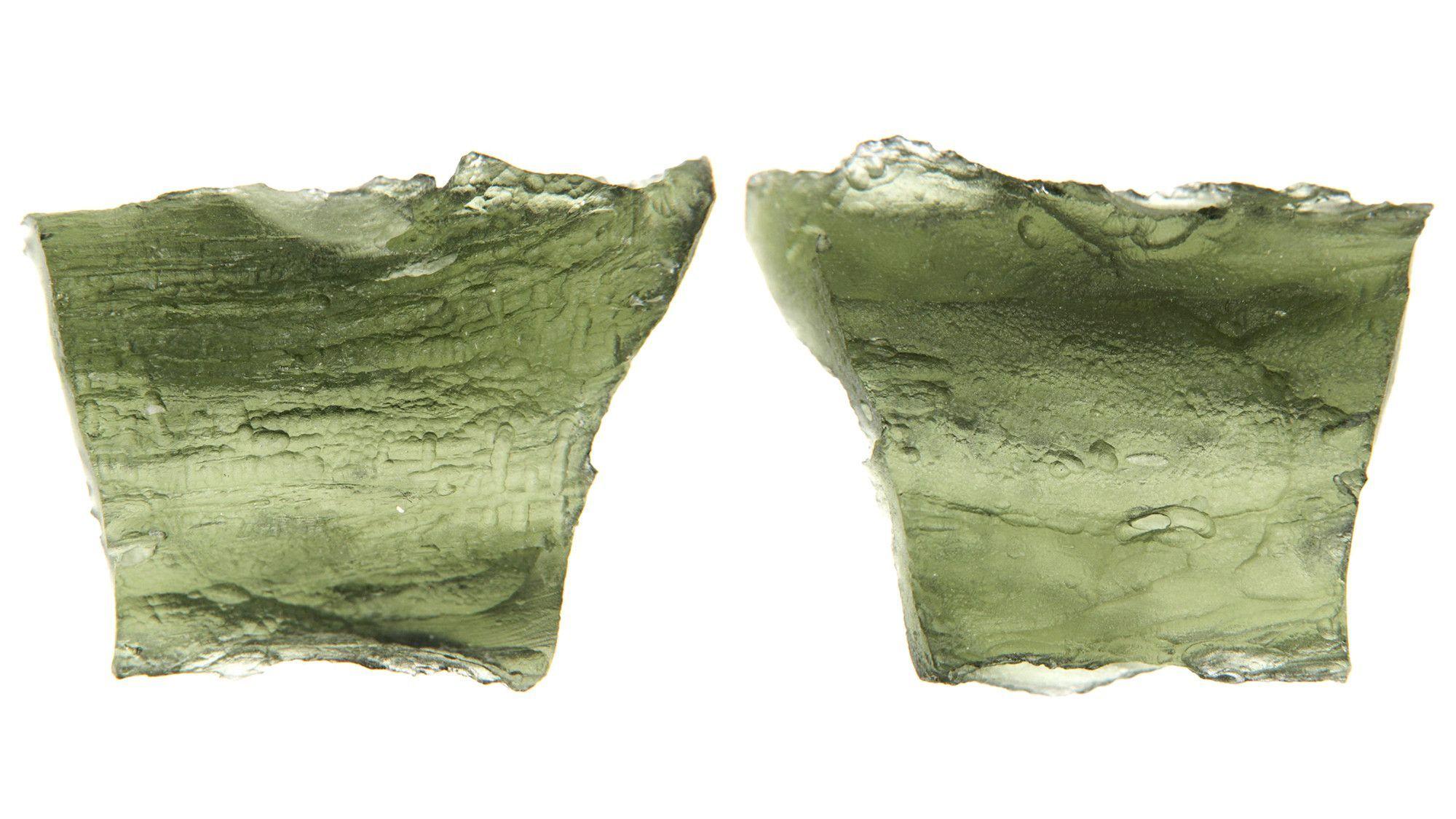 Moldavite (Tektites) Rough - A Mysterious Stone 14.7 Million Years Old
