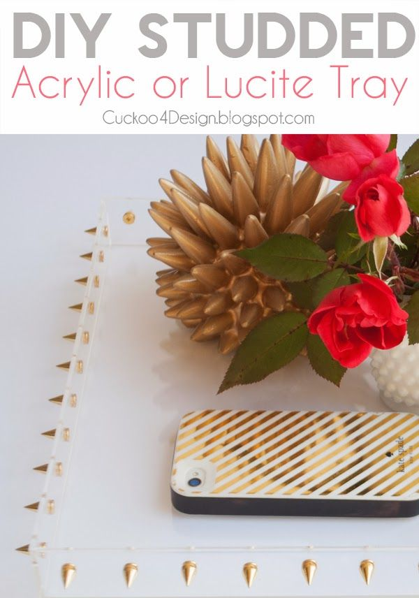 Acrylic Decorative Tray Diy Cupcake Holders  Lucite Tray Trays And Acrylics