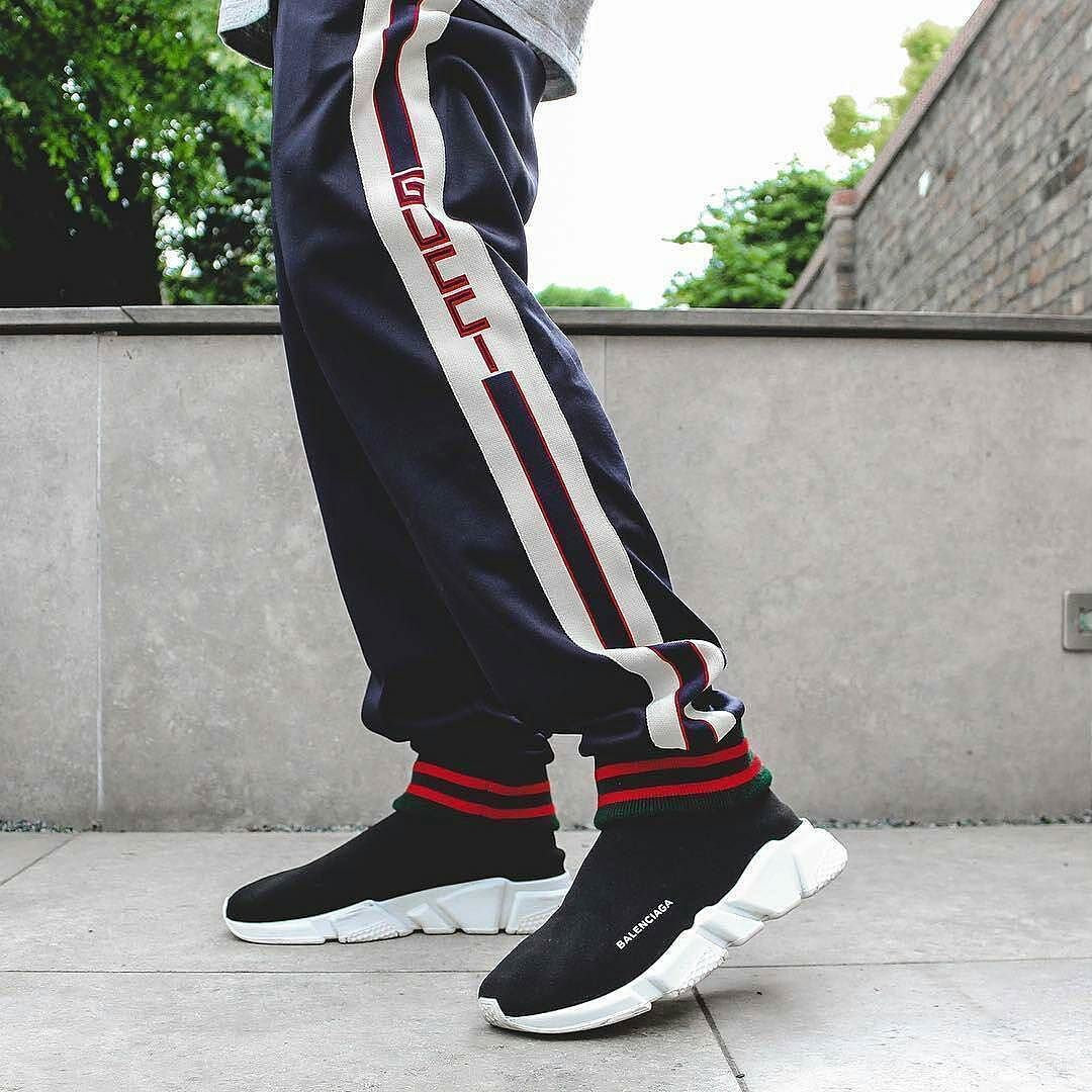 Gucci technical pants balenciaga speed trainers. All available on our site  now! a02fc82a1bef