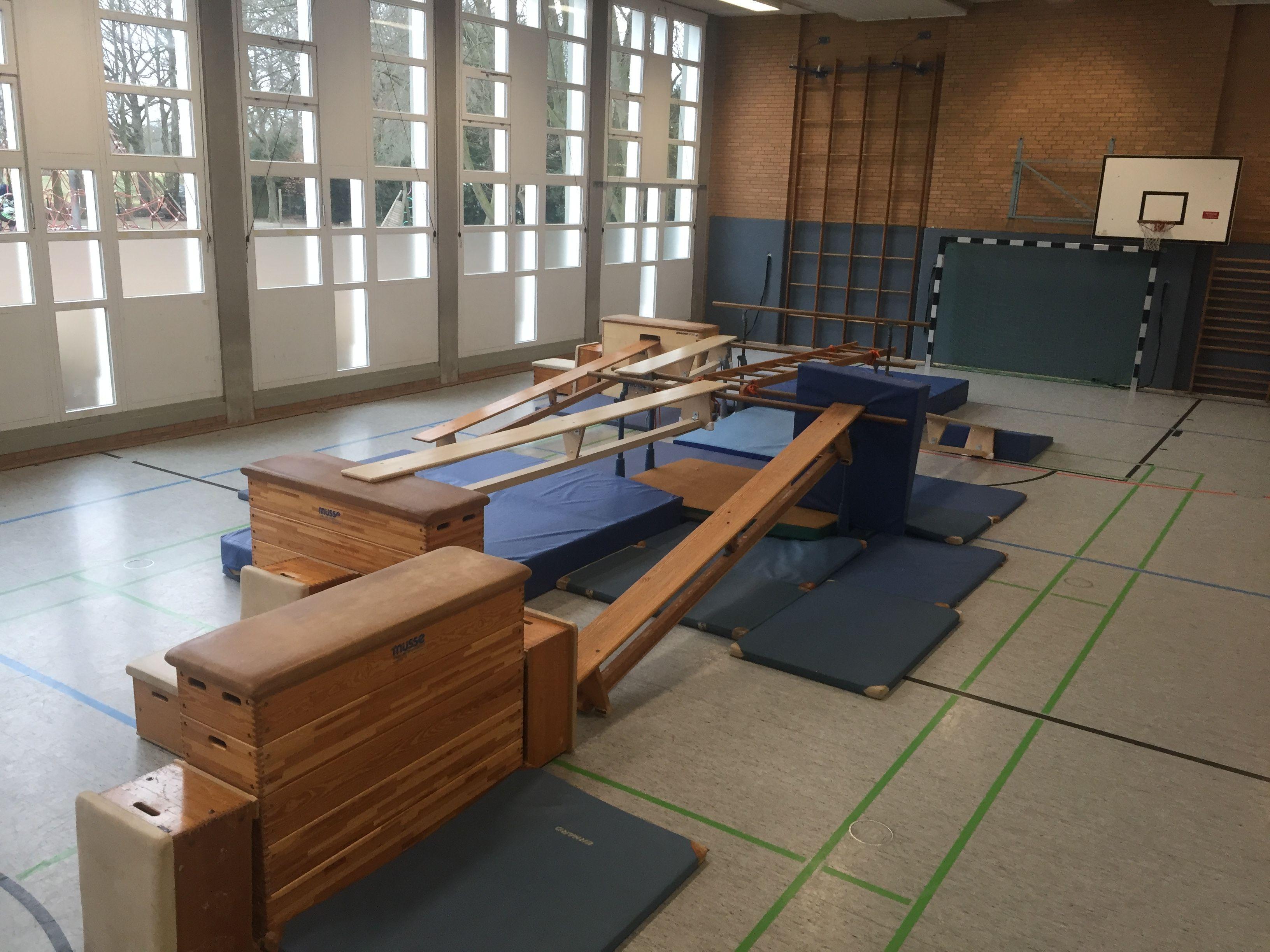 gym fitness studio - Kinderturnen Gerateaufbau Beispiele