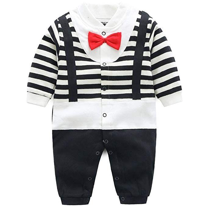 fdaa8a87994ae4 Minizone Baby Strampler Jungen Mädchen Schlafanzug Baumwolle ...