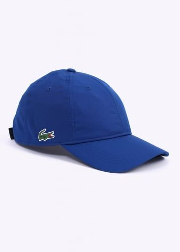 6d830760132 Lacoste Logo Baseball Cap - Royal Blue