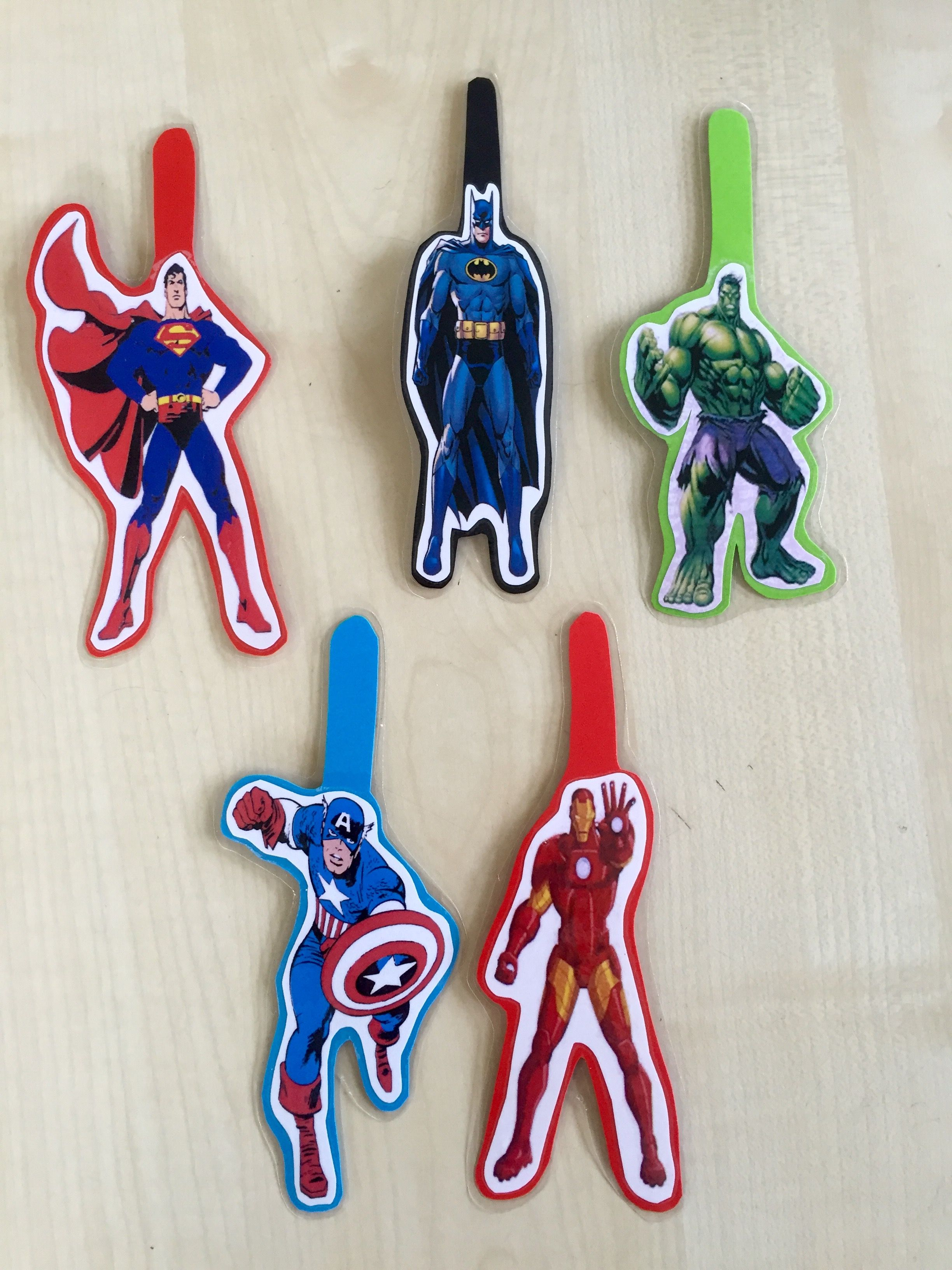 Super Hero Finger Spacers