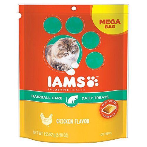 IAMS PROACTIVE HEALTH Hairball Care Daily Treats for Cats