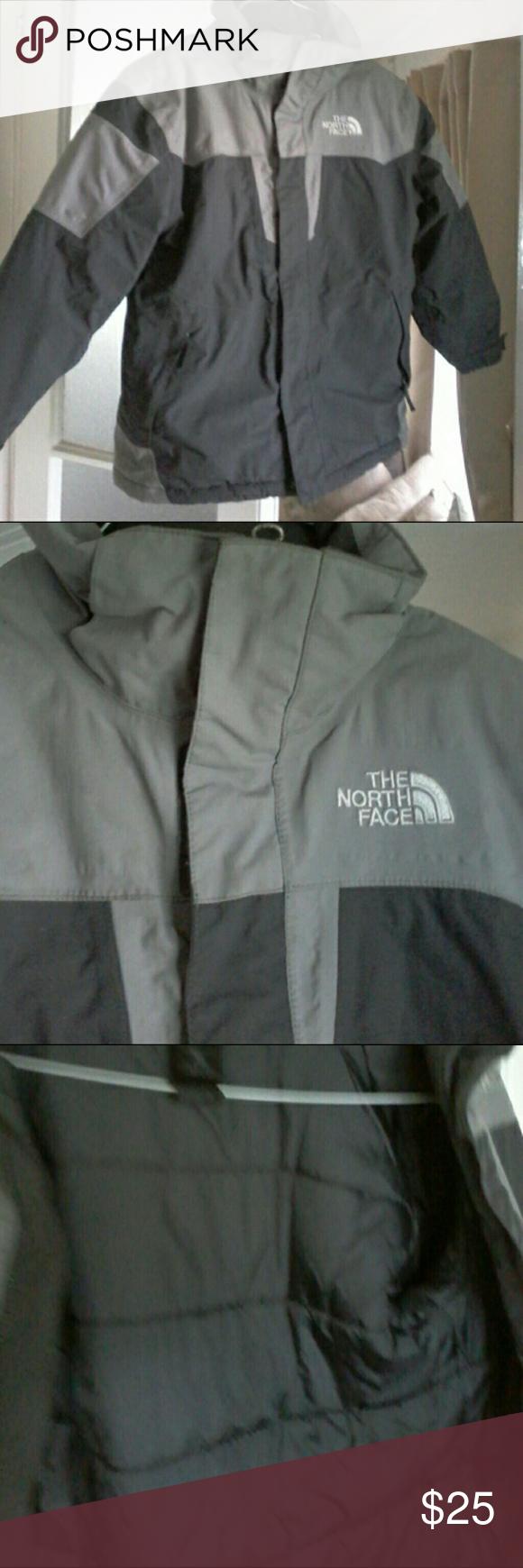 Boys North Face Coat 7 8 North Face Coat Grey North Face Coat North Face Jacket [ 1740 x 580 Pixel ]