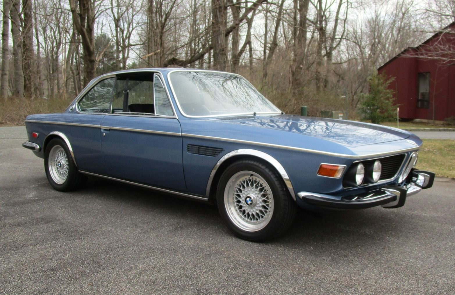 This 1972 Bmw 3 0 Csl Is One Of 429 Series 2 Examples Produced And