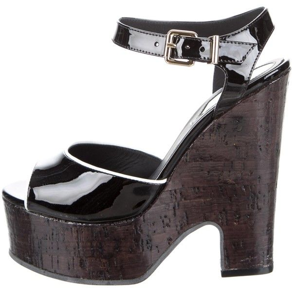 Pre-owned - Patent leather sandals Fendi EPtX4Hzz
