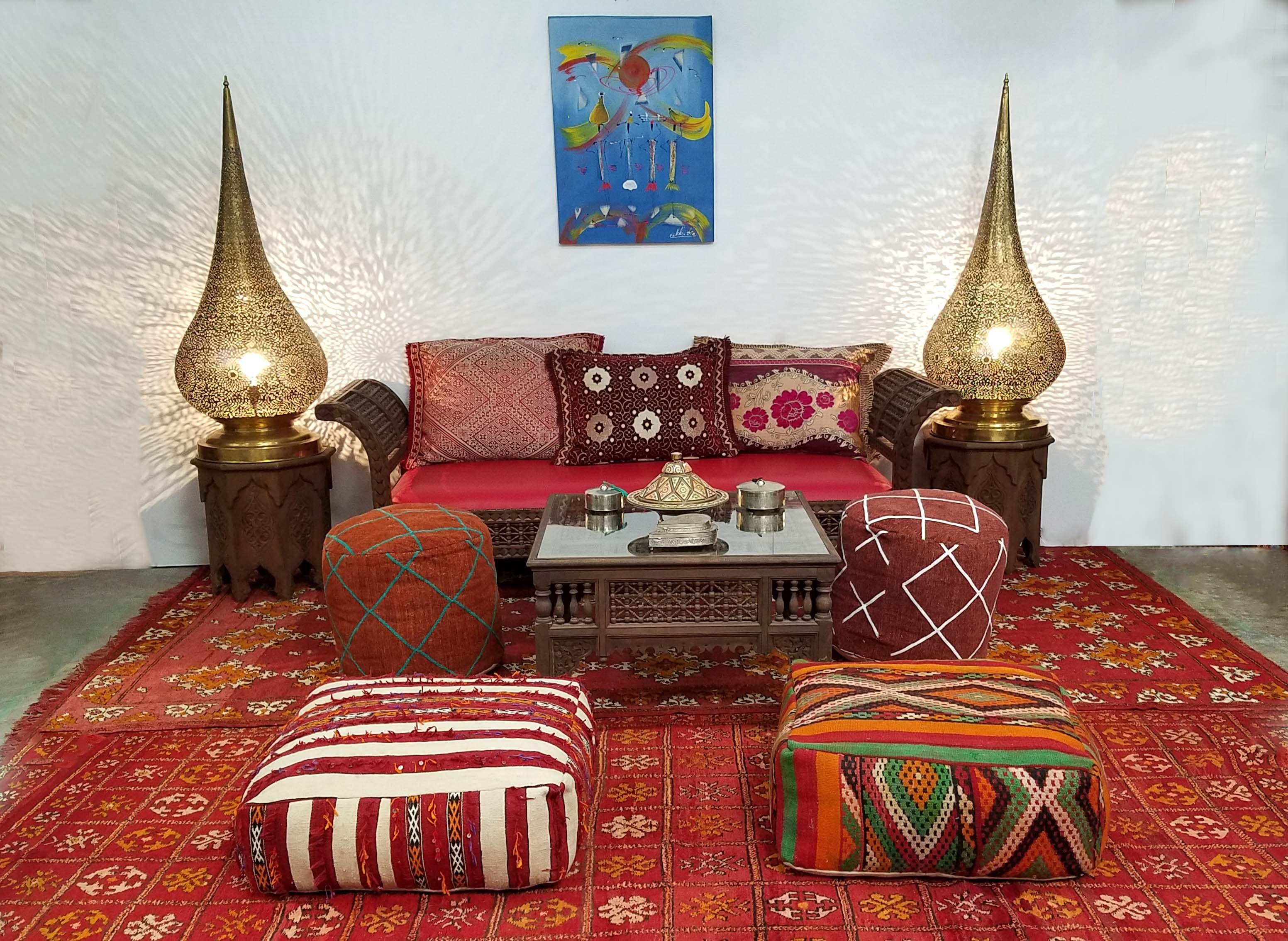 Traditional Moroccan Living Room Decor Moroccan Living Room