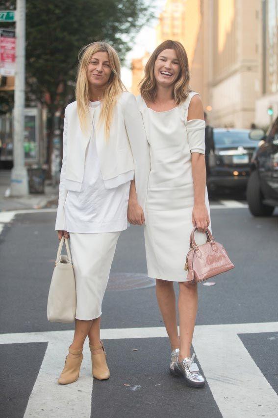 Street Style en blanco