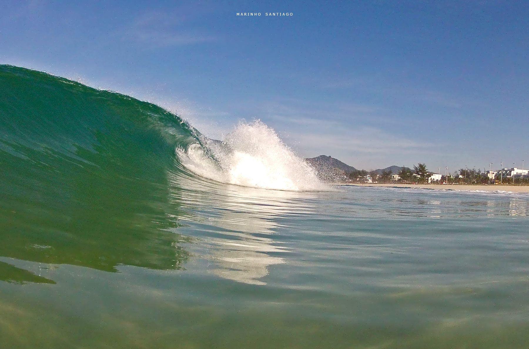 Verde onda refrescante