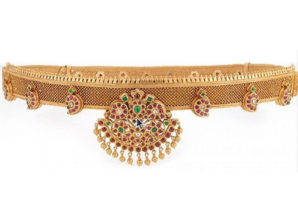Gold vaddanam oddiyanam kammarpatta waisbelt designs south indian - Vaddanams Google Search