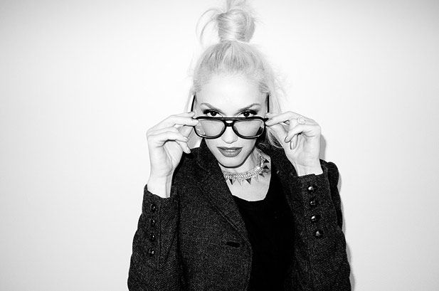 August 21: Gwen Stefani becomes Terry Richardson during a photo shoot in Terry Richardson's studio.