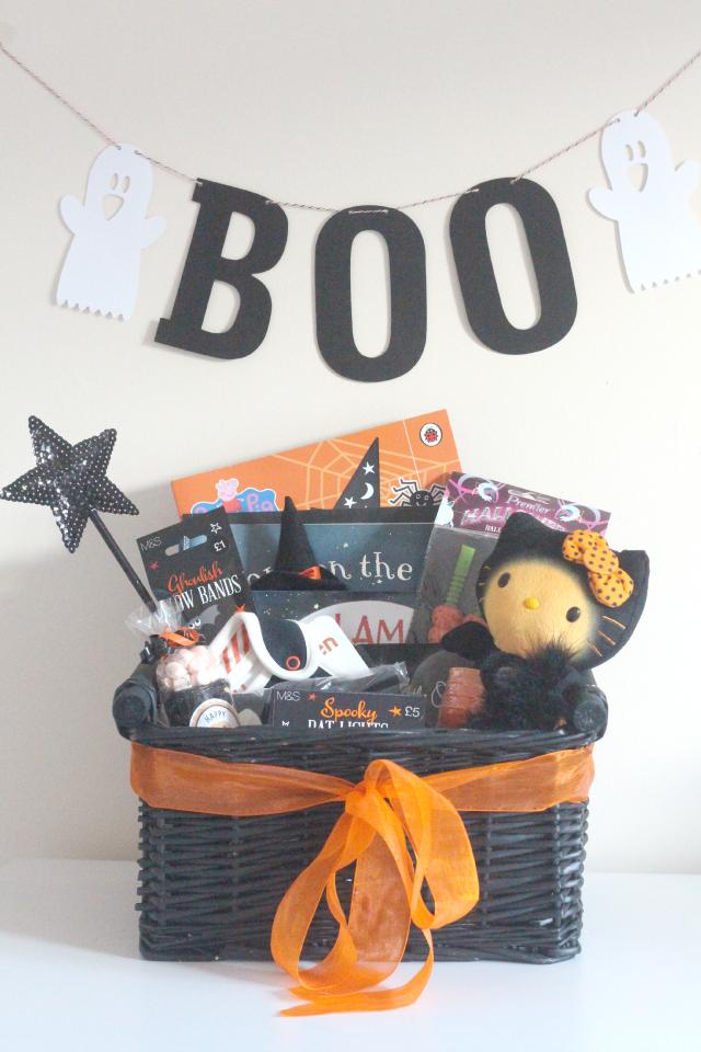 Make A Toddler Halloween Basket