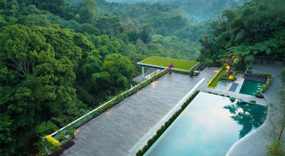 3pool Best hotels, Bandung, Mountain view