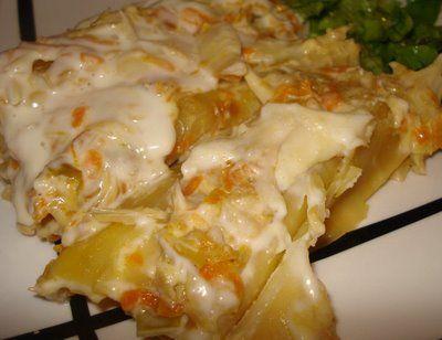 Cozinha Fresh: Canelones de bacalhau