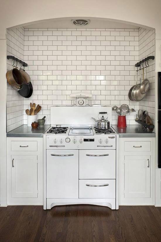 Keuken met vintage look