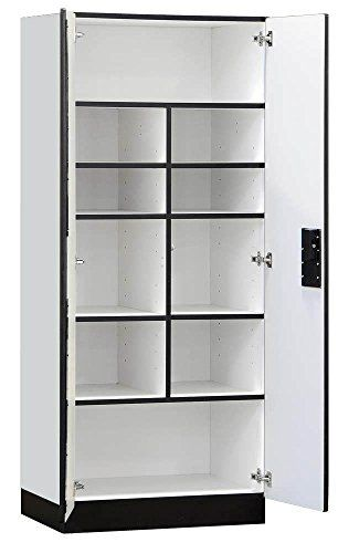Kitchen Cabinets Ideas Salsbury Industries Designer Wood Storage Cabinet Standard 76inch18inch Grey Wood Storage Cabinets Wooden Storage Cabinet Storage