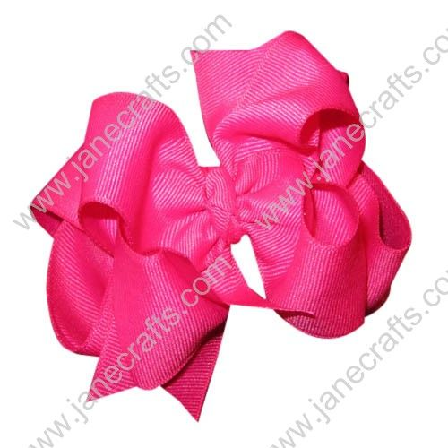 Grosgrain Layered Boutique Chunky Baby Girl HairBow Clips