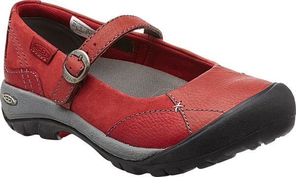 Womens Keen Red Mary Janes Presidio Mj Dahlia