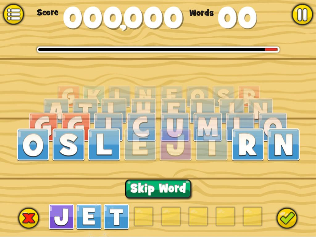 Word Blox Ios Ipad Word Blox Is An Addicting Word Game In Where You