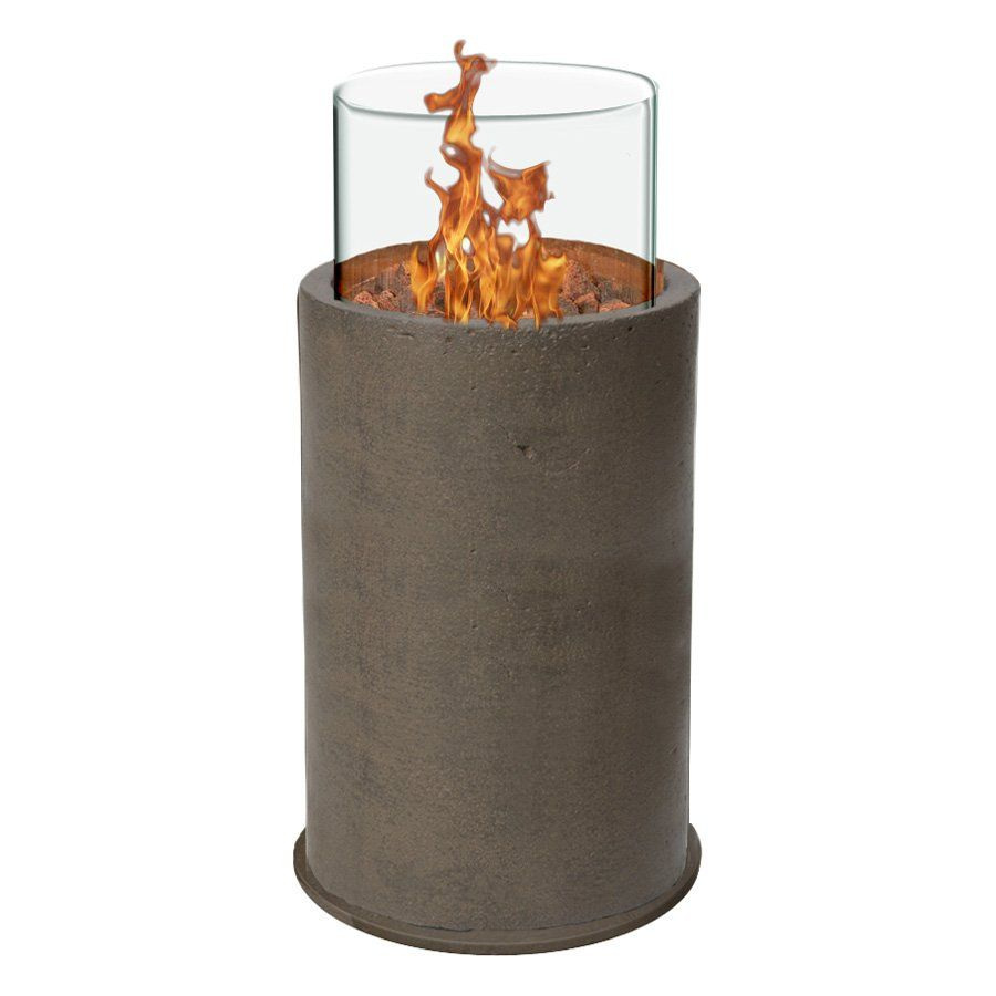 Red Ember Kona Gas Fire Column With Free Cover Pool