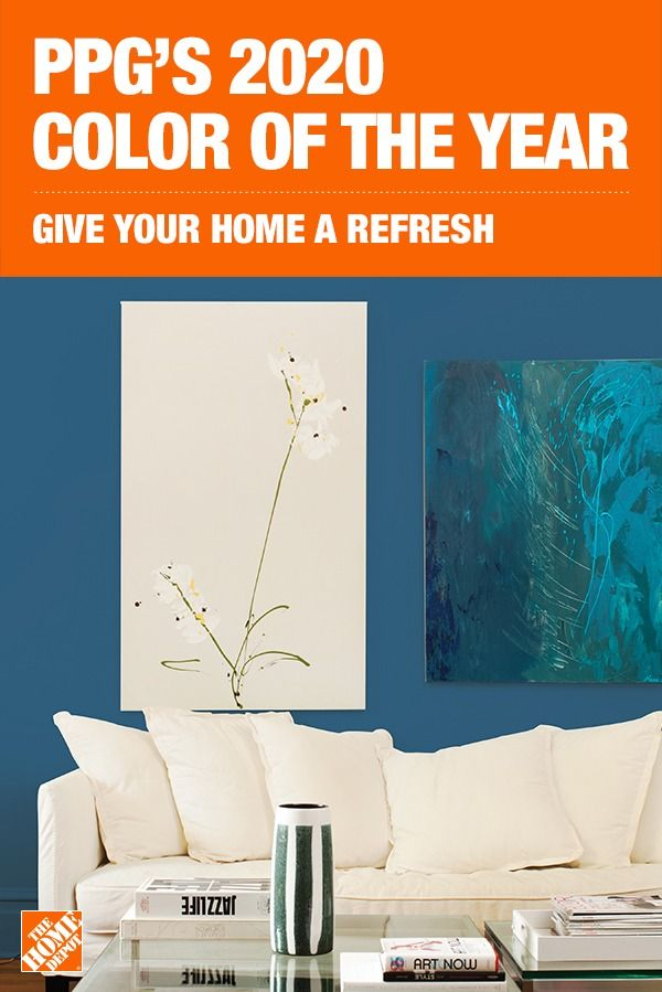 The Home Depot is your destination for popular paint colors including PPG's color of the year, Chinese Porcelain. Infuse your home with the calming and welcoming blue tones of this rich paint color. Click to shop PPG's Chinese Porcelain at The Home Depot.