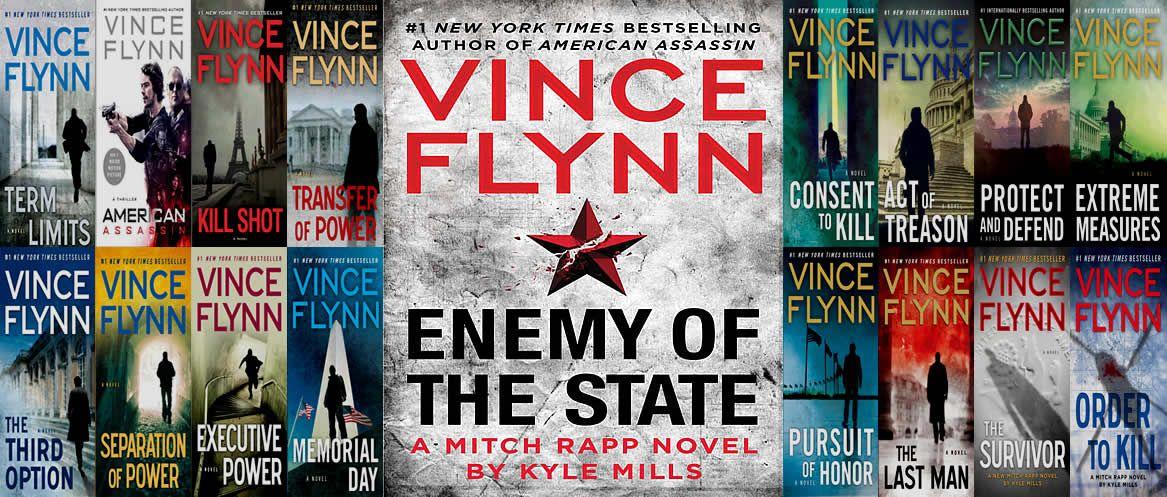 Mitch rapp novels by vince flynn mitch rapp vince flynn