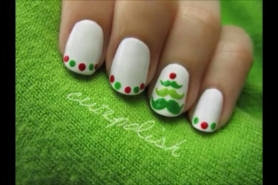 Cutepolish Christmas nail art | Holiday/Birthday nail art ...