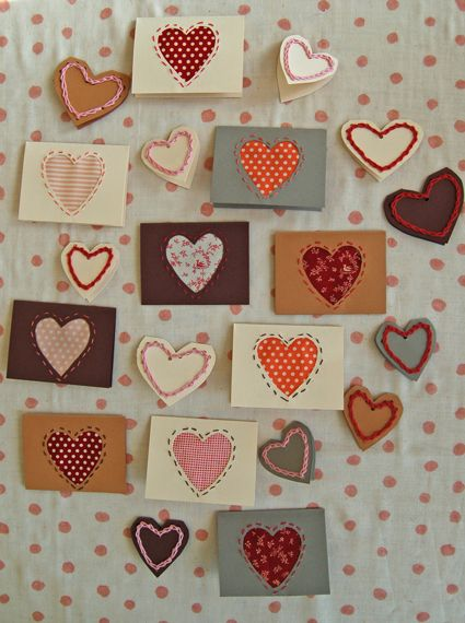 handmade heart cards diy