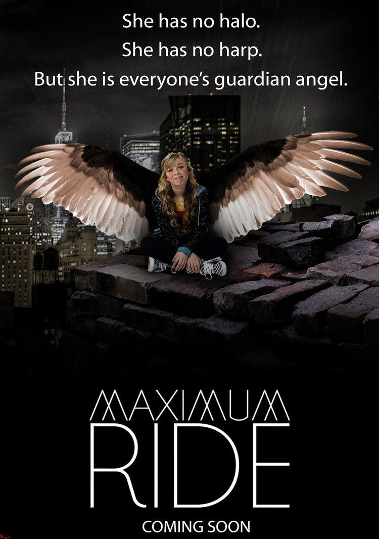 Maximum Ride Movie Poster. I like how it's the pic of Sam