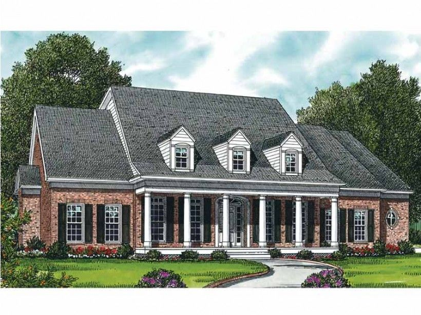 Home Plan HOMEPW16611 is a gorgeous 3003 sq ft, 2 story, 3 bedroom ...