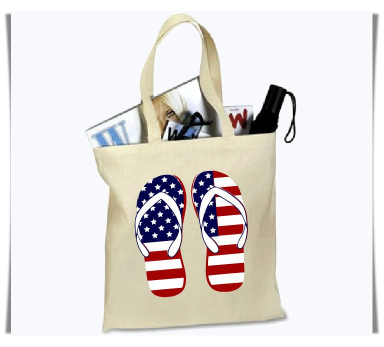 ee7e6fcd8b5 Tote Bag, 4th of July Beach Tote, Grocery Bag, Reusable Bag ...