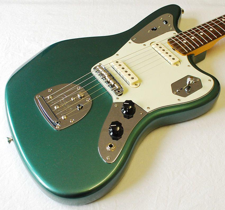 Fender Jaguar Sweetwater: Fender Jaguar Johnny Marr Limited Sherwood Green