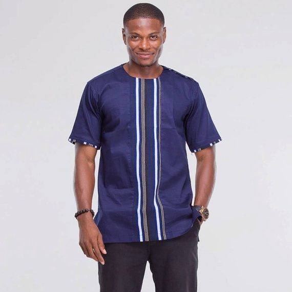 dashiki chemise chemise africaine african par africablooms mode homme design. Black Bedroom Furniture Sets. Home Design Ideas