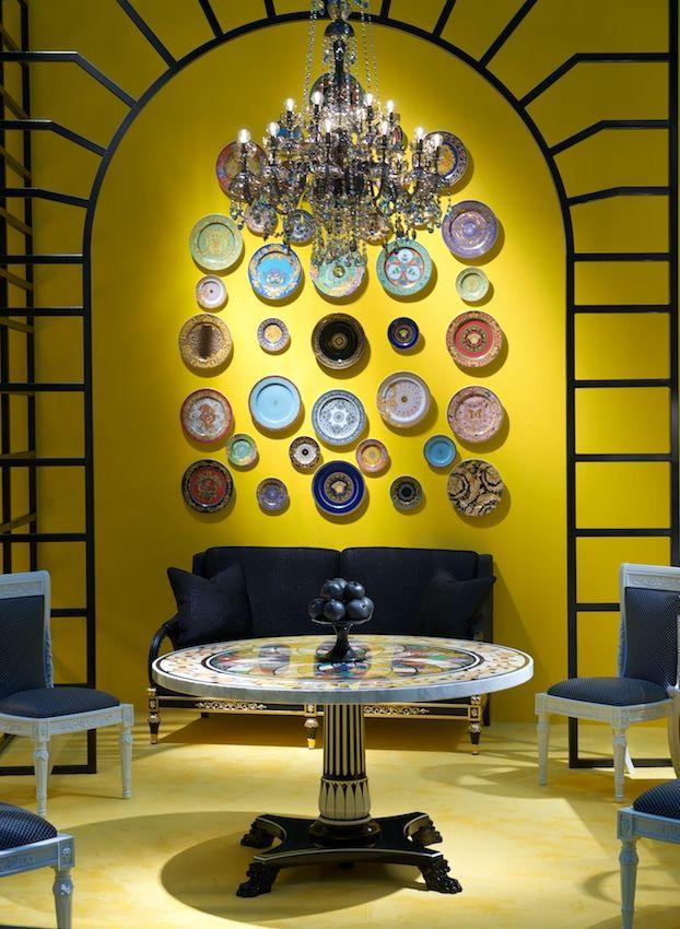 Pin By Helen Merkulova On Versace Gold Home Decor Versace Home Versace Furniture