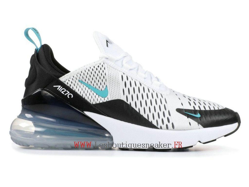 baskets nike air max 270 chaussures de running pour homme femme blanc