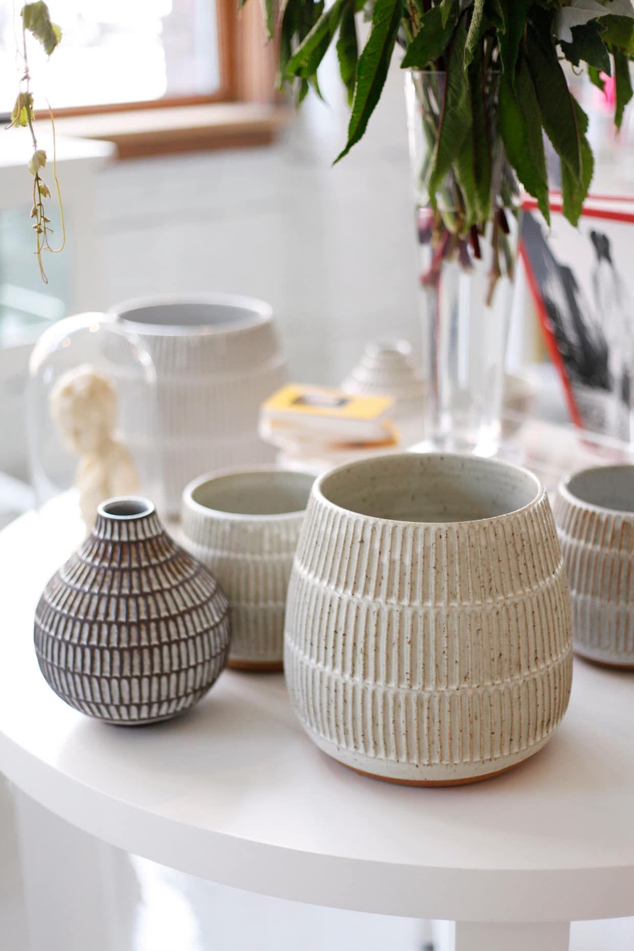 Meet Jane Hedreen, Designer/Owner Of flora and henri #ceramicpottery