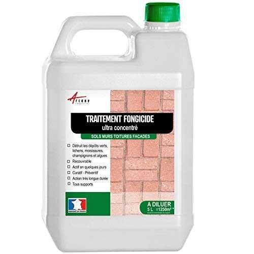 Fongicide Ultra Concentre Pour Toiture Murs Facade Terrasse Antimousse Elimine Aussi Algues Et Lichens Anti Depot Vert Liquide Tra En 2020 Toiture Facade Terrasse