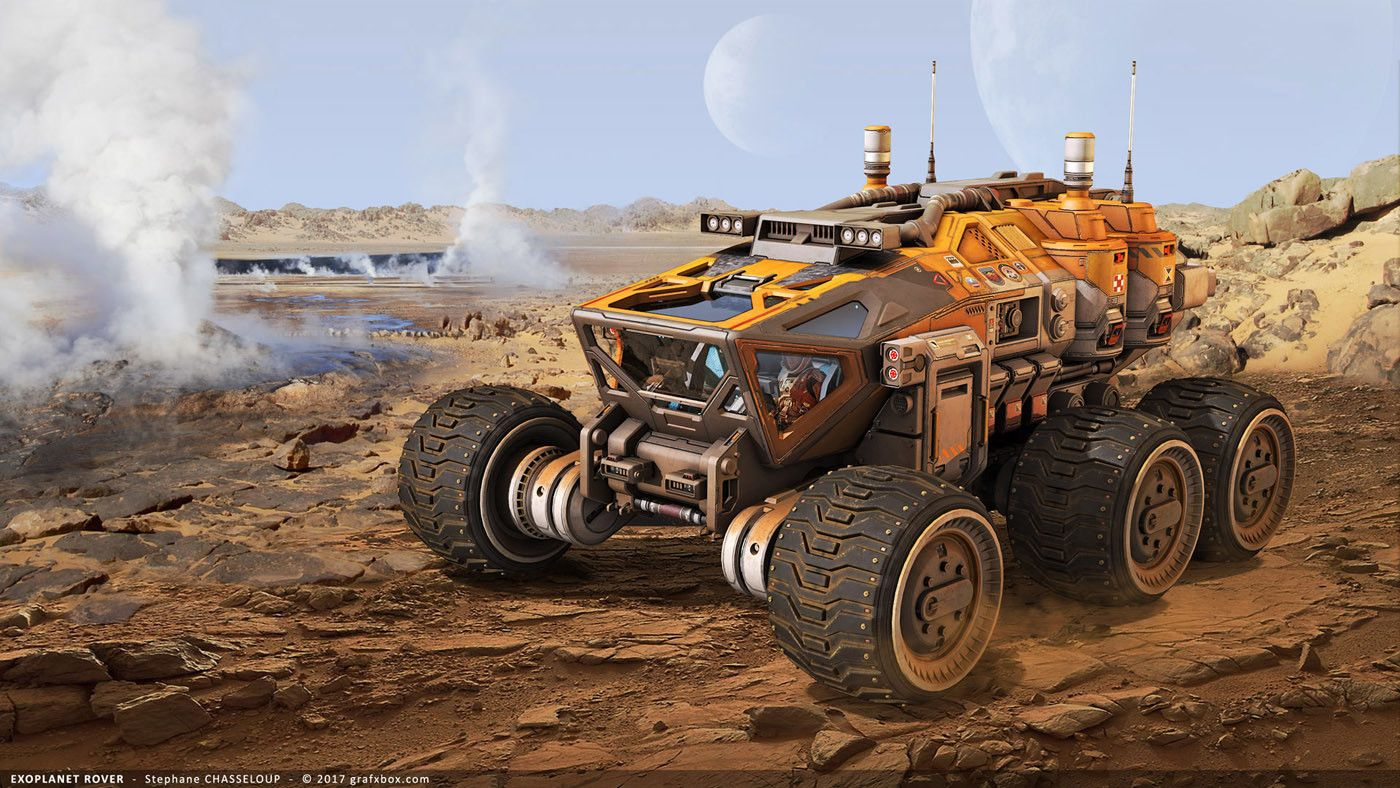 space engineers mars rover - photo #35